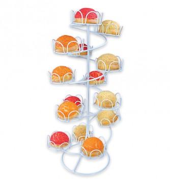 Présentoir à Cupcakes en Métal Spirale