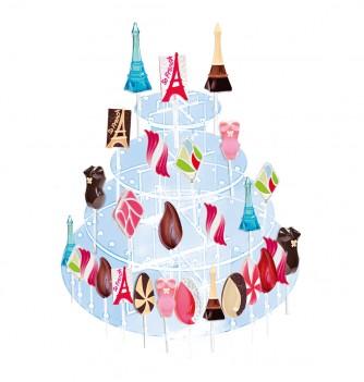 Crystal Lollipops Display - 4 floors