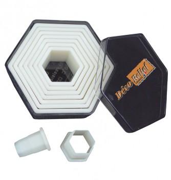 Découpoirs Lisses Hexagones