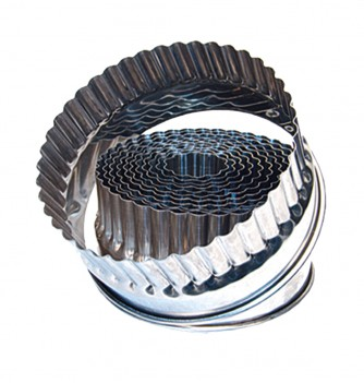 Stainless steel 14 fluted round cutters