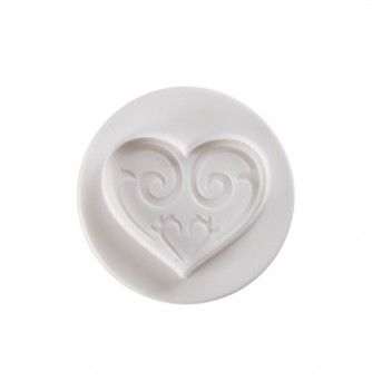 Pastry cutters - 2 Hearts Diam.45-60mm