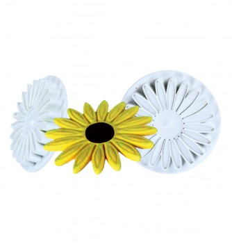 Pastry Cutter -x2 Flowers 70mm