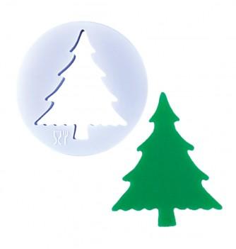 Emportes Pièces Sapins de Noël en Plastique