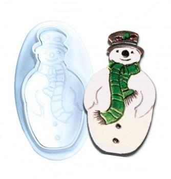 Pastry cutters 2 snowmen diam.110-65mm