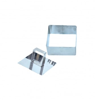 Pastry cutters - 2 Squares 80x40mm