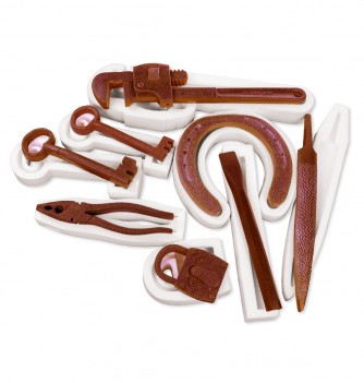 Silcone mold - 8 tools (with keys) set 50-255mm