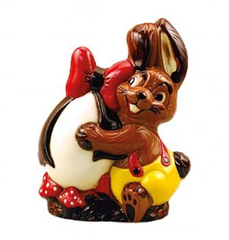 Chocolate Mold- Egg Rabbit 205mm