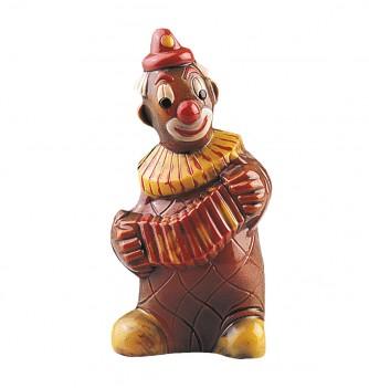 Chocolate mold clown accordion 215mm