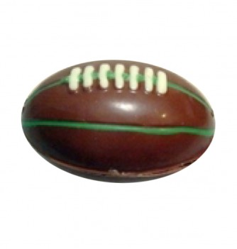 Chocolate mold small rugby ball (x3) -75mm