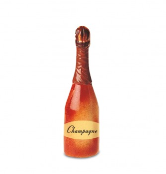 Chocolate mold champagne bottle 215mm