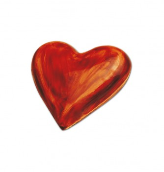 Chocolate mold smooth heart 150mm