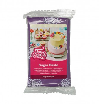 Pâte à Sucre FunCakes Violet Royal