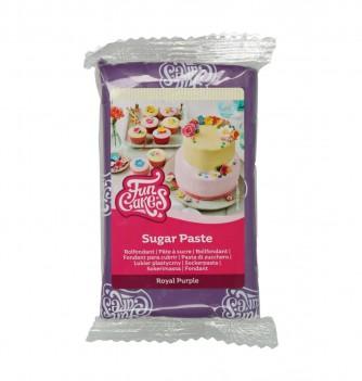 Royal purple FunCakes Sugarpaste