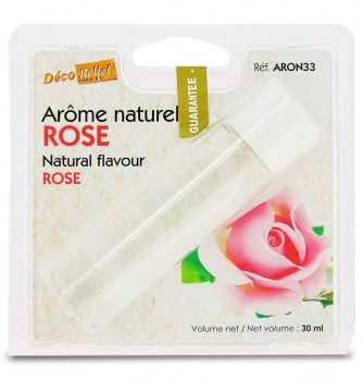 Arôme Naturel Alimentaire Rose