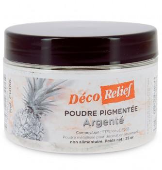 Poudre pigmentée Argenté