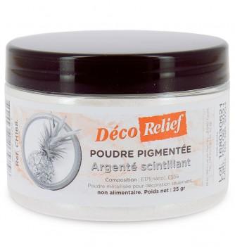 Poudre pigmentée Argenté Scintillant