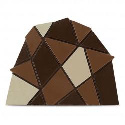 Moule Noeud de Bûche Briques 3 modèles