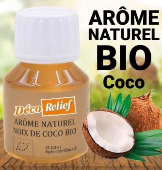Water-soluble Organic Coconut flavor