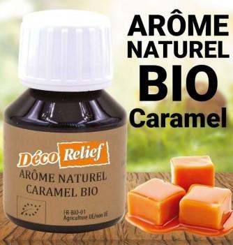 Arôme bio caramel hydro 58 ml