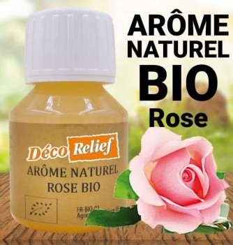 Water-soluble Organic Rose flavor