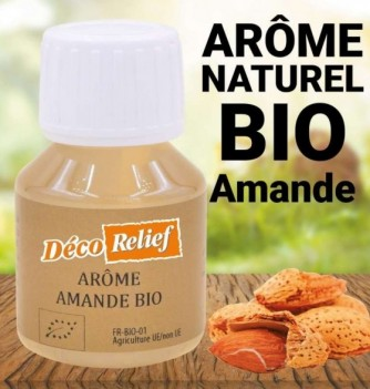 Water-soluble Organic almond flavor