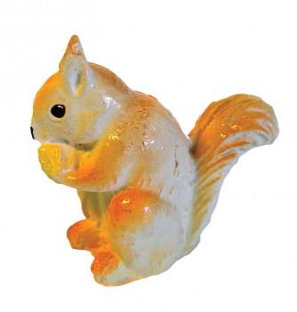 Silicone mold squirrel 65x60mm