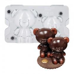 Moule Bonbon Chocolat Aimanté Grandes Rosaces