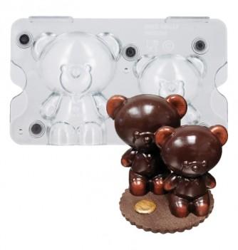 Moule chocolat Ourson aimanté
