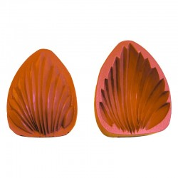 Moule Madeleine Silicone 9 Grandes Pièces