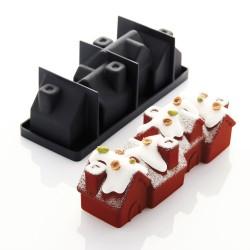 Caissettes Cupcakes Rose Fuschia