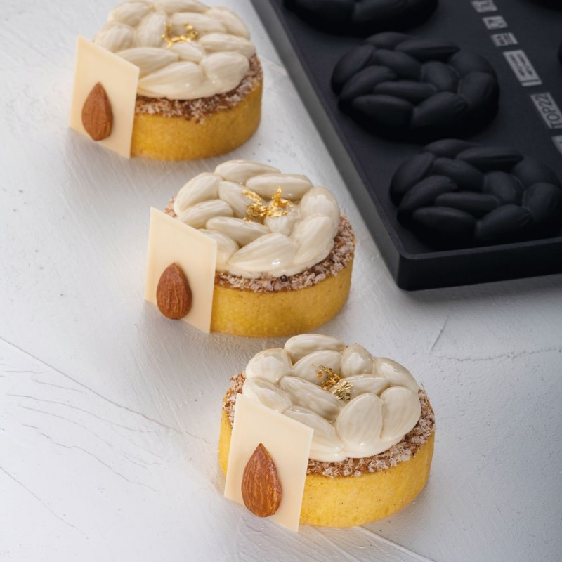 Moule Gâteau Silicone Savarins Décoflex 65mm