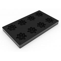 Moule à Brioches Silicone 12pcs Décoflex