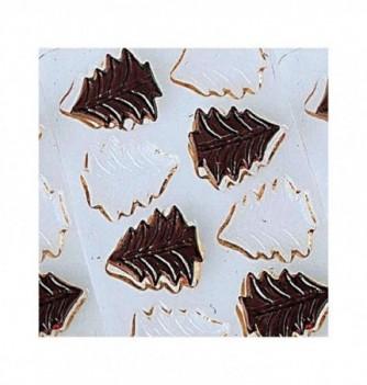 Chocolate mold 10 Christmas trees 10pcs