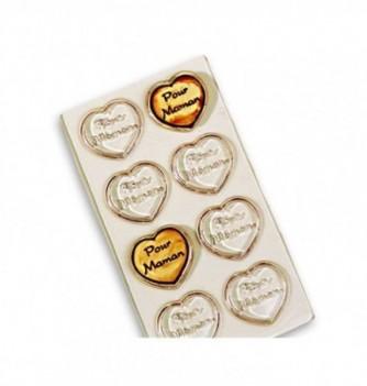 Moule Plaque Chocolat Pour Maman Thermoformé