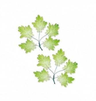 4 bunches of 5 gumpaste leaves