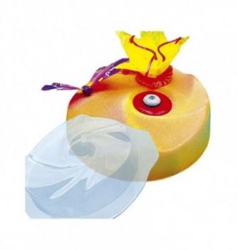 Plastic mold for dessert round 195mm 160mm