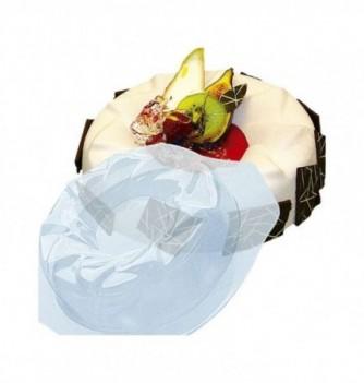 Plastic mold for dessert round 220mm 170mm