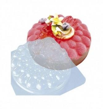 Plastic mold for dessert round 170mm
