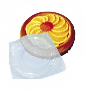 Plastic mold for dessert round 190mm