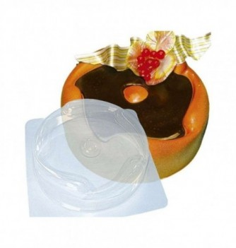 Plastic mold for dessert round 180mm