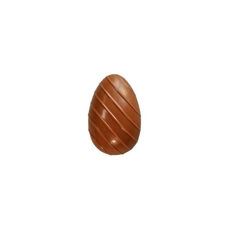 Moule bonbon chocolat rond bombé 30x19mm