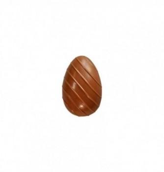 Moule Oeuf Chocolat Rayé 1pc