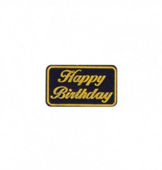 Moule silicone relief happy birthday