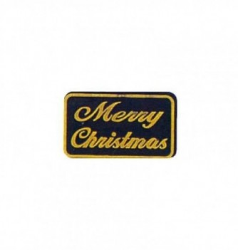 Moule silicone relief merry christmas