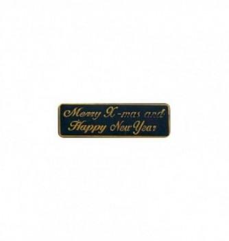 Silicone mold logo Merry X-mas & Happy New Year