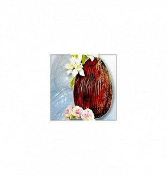 Moule Oeuf Chocolat Demi Coquille Tronc 20cm